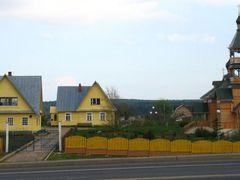 Wooden church in Karaliou Stan (Каралёў Стан) by <b>Andrej Kuzniecyk</b> ( a Panoramio image )