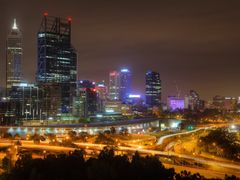 Perth City from Kings Park by <b>S?ren Terp</b> ( a Panoramio image )