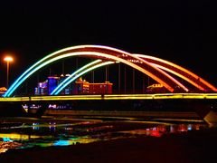Китай. Яньцзи. Мост через реку Яньцзи. China. Yanji. Bridge on t by <b>Veniamin Manuylov</b> ( a Panoramio image )