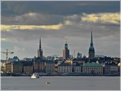 Beautiful afternoon in Stockholm, Sweden by <b>Ahmet Bekir</b> ( a Panoramio image )