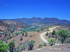 Hills and road in Flinders Ranges, 17-03-2001 by <b>Jan Arve kristiansen</b> ( a Panoramio image )