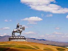 Статуя Чингисхана by <b>Shveda</b> ( a Panoramio image )