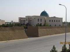 Gokdepe Fortress. National Museum of Gokdepe by <b>Anuar T</b> ( a Panoramio image )