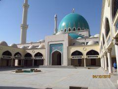 Saparmurat Hajji Mosque, inner court by <b>Anuar T</b> ( a Panoramio image )