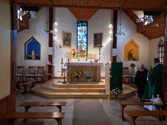 Ahtme Catholic church after renovation in 2013. (Katoliku kirik/ by <b>sihi</b> ( a Panoramio image )