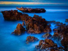 Trigg Beach at night by <b>S?ren Terp</b> ( a Panoramio image )