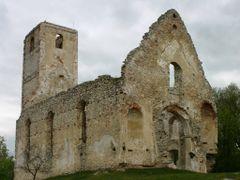 ruins of St. Katarina church and monastery by <b>Jan Madaras</b> ( a Panoramio image )