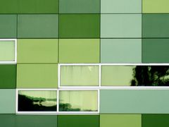 Green palette - Hugh Ennor building Australian National Universi by <b>Paul Strasser</b> ( a Panoramio image )